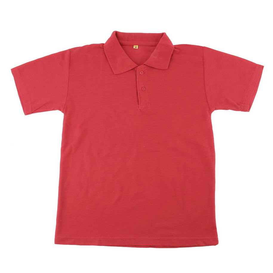 Solid color mens lapel polo shirt short sleeve casual tee for One color t shirt