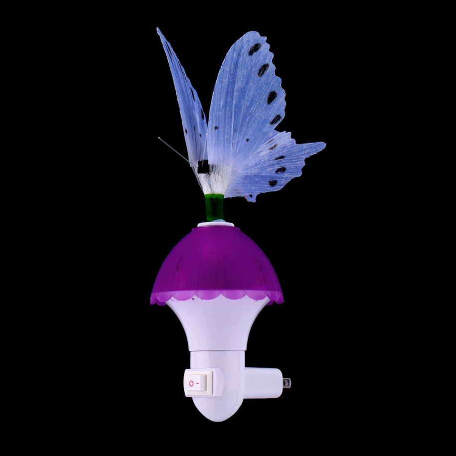 Mini Fiber Optic Butterfly LED Color Changing Effects