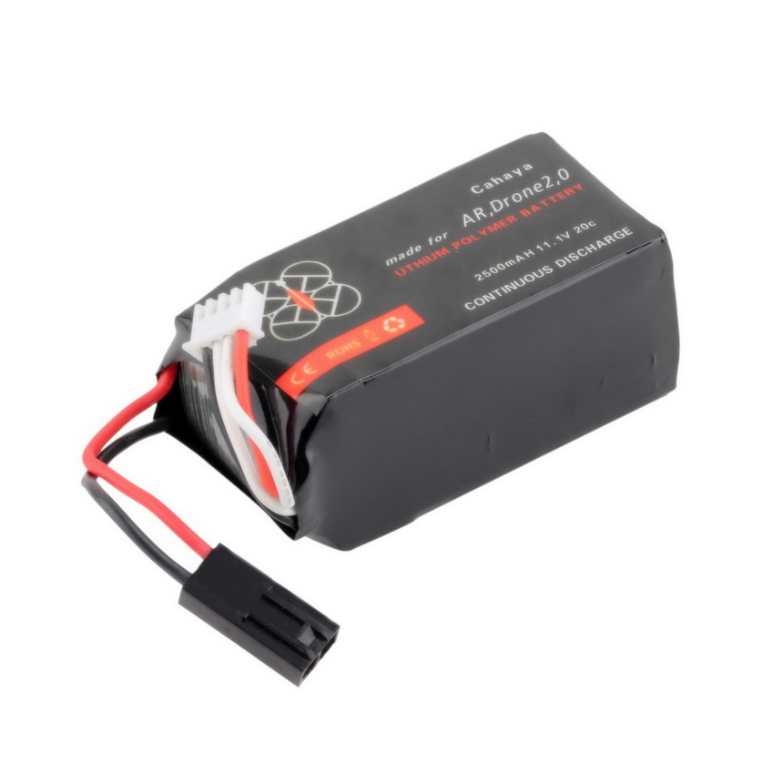 11 1v 2500mah 20c li po battery for parrot ar drone 2 0 hh ebay. Black Bedroom Furniture Sets. Home Design Ideas