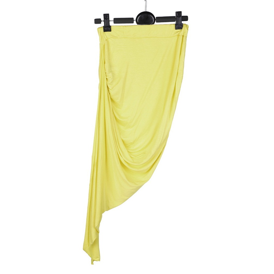 wrap draped cut out hi low asymmetrical high