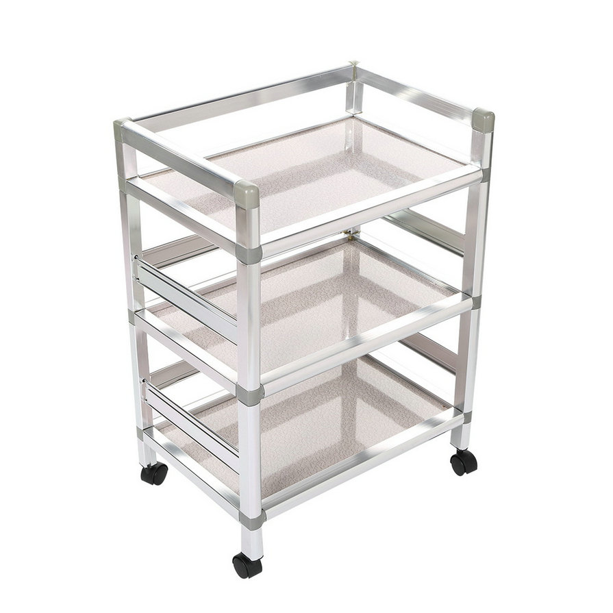 salon tray trolley cart hair barber beauty equipment. Black Bedroom Furniture Sets. Home Design Ideas