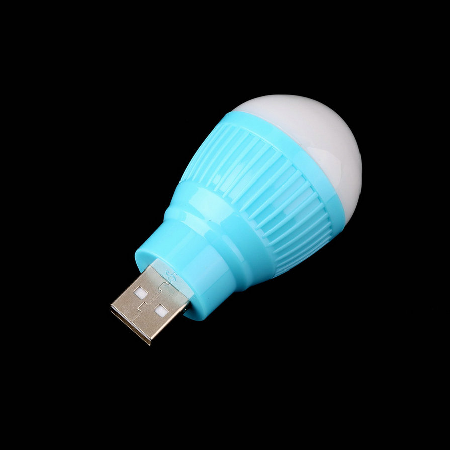 portable mini usb led light lamp bulb for computer laptop pc desk reading e ebay. Black Bedroom Furniture Sets. Home Design Ideas