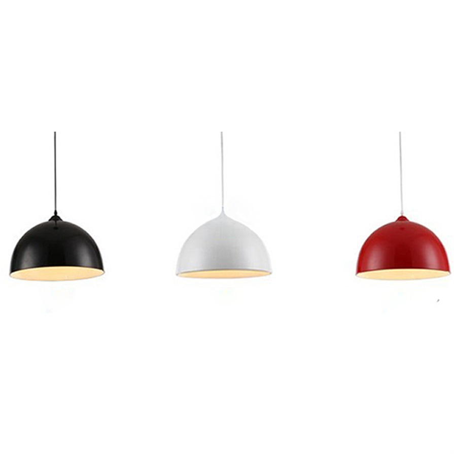 Red Pendant Lamp Shade