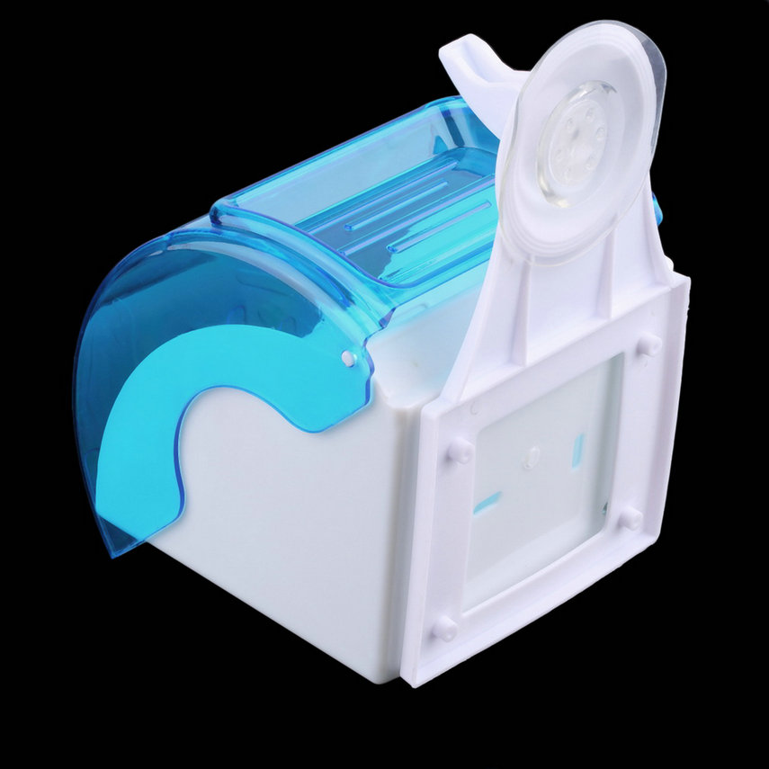 Waterproof toilet paper holder suction cup tissue roll stand bathroom rack - Tissue holder bathroom ...