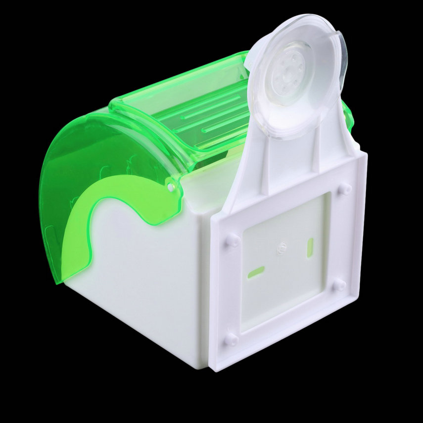 Waterproof Toilet Paper Holder Suction Cup Tissue Roll
