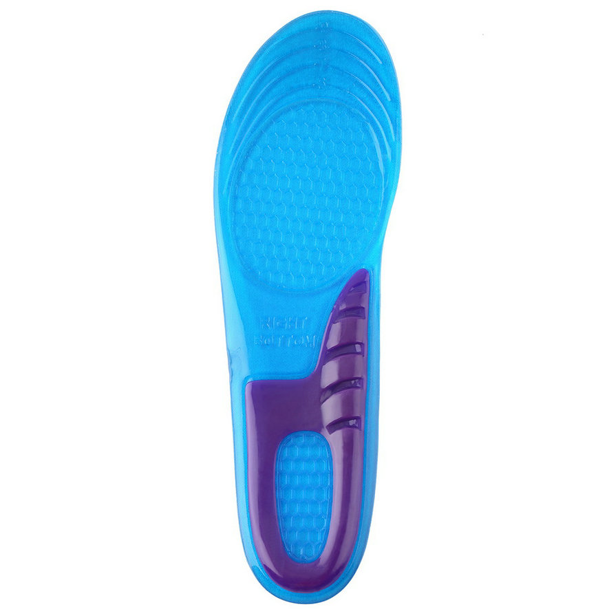 new silicone sports shoes insoles comfort arch support