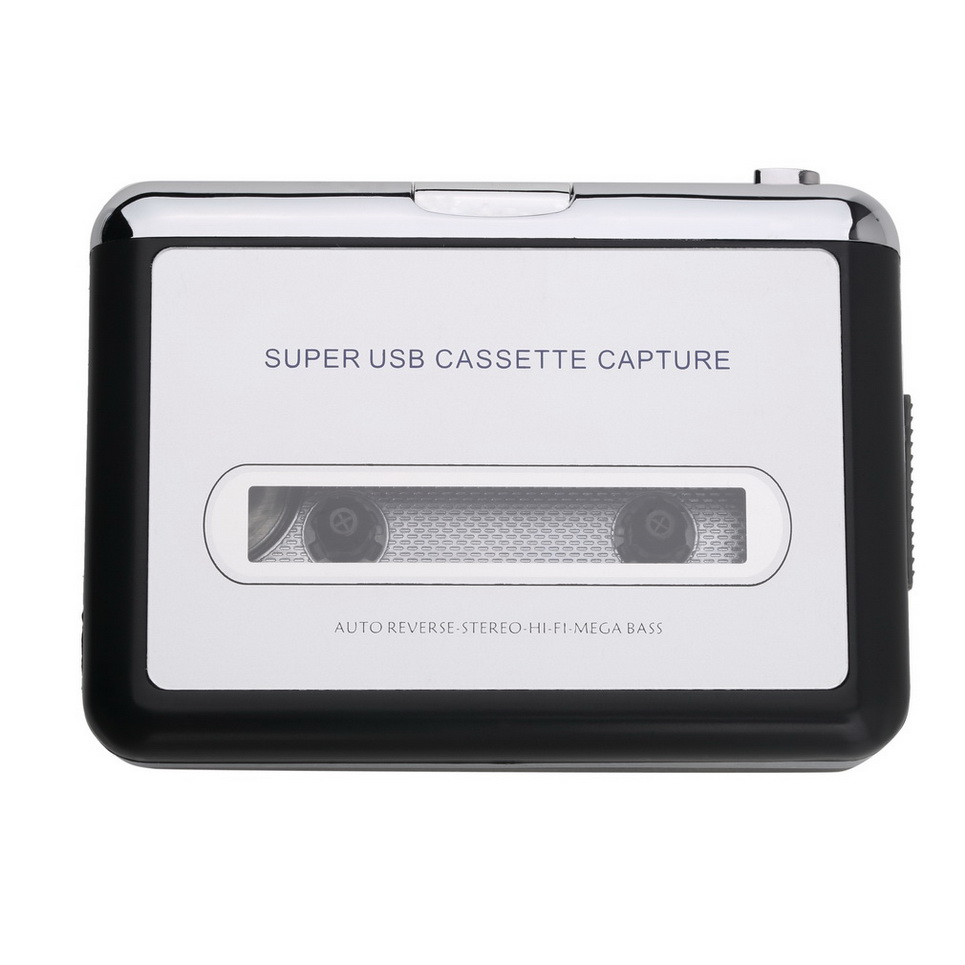 tape to pc usb cassette mp3 cd converter capture digital audio music player hr ebay. Black Bedroom Furniture Sets. Home Design Ideas