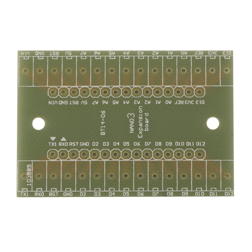 Generic terminal adapter board module for arduino nano v