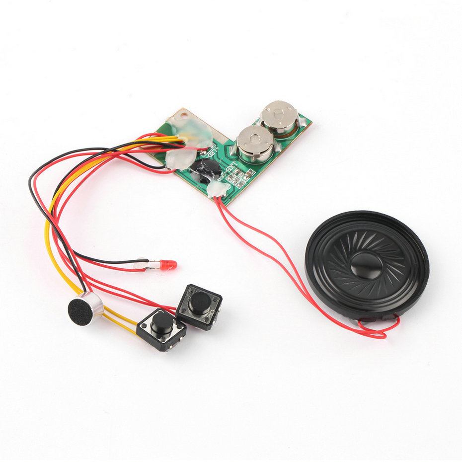 10sec Recordable Voice Module For Greeting Card Music Sound Talk